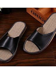 Unisex Clogs & Mules Spring / Summer / Fall Comfort PU Casual Flat Heel
