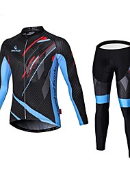 malciklo Winter Fleece Cycling Jersey men's Long Sleeve Bicycle Cycling Clothing Bike Wear Outdoor Ropa Ciclismo
