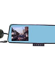 новый зеркало заднего вида автомобиля рекордер 1080p HD ночного видения двойной объектив диск рекордера