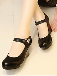 Women's Heels Spring / Fall Heels Rubber Outdoor Others Black Others