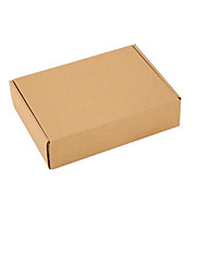 Kraft Paper Packaging Box  Specifications 220 * 140 * 40MM 5 Packaged for Sale