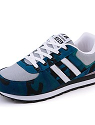 Men's Sneakers Spring / Fall / Winter Comfort / Flats Fabric / Tulle Athletic / Casual Flat Heel  Blue  / Gray Others
