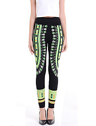 Women Print Legging,Cotton