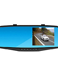 Rear View Mirror Drive Recorder Dual Lens A20 4.3 Inch 1080P Night Vision Parking Monitoring
