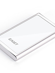 EAGET G90 500G Portable & Stylish Hard Disk HDD ((Silver))