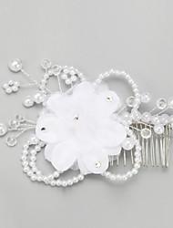 Women's Crystal / Chiffon / Leatherette Headpiece-Wedding / Special Occasion Headbands 1 Piece