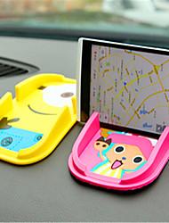 le nouveau pad de voiture de téléphone mobile cartoon chien électronique support pad de navigation stockage pad véhicule de silice pour