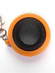 DK-601 Mini Portable Capsule Speaker Rechargeable for MP3 Mobile Phone Orange
