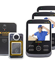 KiVOS KDB300M Wireless Video Doorbell Cat Household Anti-Theft Doorbell Villa  Camera Call Monitoring