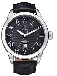 AIBI® Men's Fashion Watch Water Resistant/Water Proof Calendar Black Dress Watch Wrist Watch For Men Cool Watch Unique Watch With Watch Box
