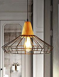 Tieyi Chandelier Bar Cafe Retro Bedroom Living Room Lamp Chandelier Mesh