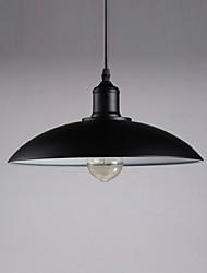Max 60W Traditionnel/Classique / Rétro Style mini Métal Lampe suspendueChambre à coucher / Salle à manger / Cuisine / Bureau/Bureau de