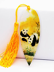 Chinese National Treasure Cute Pandas In Chengdu Sichuan Wolong Vein Bookmark Wind Souvenirs Can Be Customized