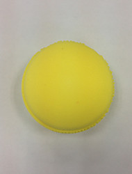 Powder Puff Makeup Sponge Round 6*6*5CM Normal Blue / Pink / Yellow