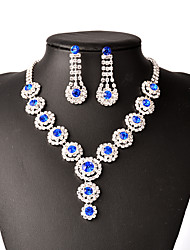 Jewelry-Set  Include(Women Necklace/Earrings)Silver Plated TasselsOccasion Wedding Gifts