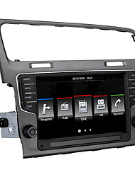 VW golf7 Car Dvd Player With 8Inch 1024x600 Capacitive Screen Built-In CANBUS