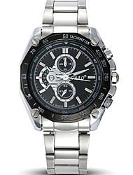 Herren Armbanduhr Quartz / Edelstahl Band Cool Bequem Silber Marke