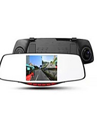 Good X128 Before And After The Automobile Rearview Mirror Tachograph Dual Lens HD Monitor