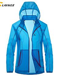 Randonnées Hauts/Tops Unisexe Etanche / Respirable / Matériaux Légers / Doux / Confortable Printemps / Eté / Automne Polyester BlancM / L