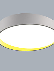 Flush Mount Segmenting 64W LED Ceiling Light  Modern/ Mini Style Living Room / Bedroom White Light /Warm White