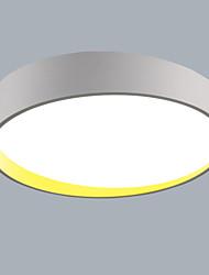 64 W Montagem do Fluxo ,  Contemprâneo Pintura Característica for LED / Estilo Mini PlásticoSala de Estar / Quarto / Sala de Jantar /