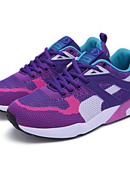 Unisex Athletic Shoes Spring / Fall Comfort Fabric Casual Flat Heel Black / Blue / Purple / Red / Royal Blue Sneaker