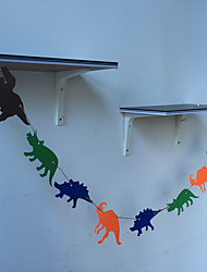 Streamers Decorated Garland Brace Dinosaur Party Room Shooting Props Children Birthday
