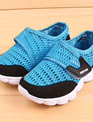 Unisex Sneakers Spring Summer Comfort Tulle Athletic Flat Heel Magic Tape Blue Green Pink