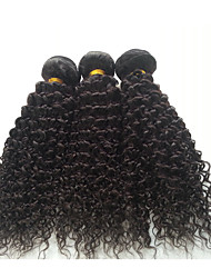 20-24'' Malaysian Virgin Hair 3 Bundles Malaysian Curly Hair Malaysian Kinky Curly Virgin Hair Deep Wave Curly 1b