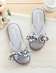 Women's Slippers & Flip-Flops Spring / Summer Comfort Rubber Casual Flat Heel Others Gray Others