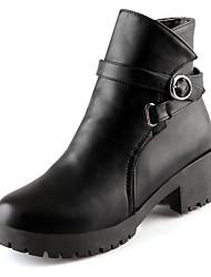 Feminino-Botas-Plataforma Plataforma Básica Botas Montaria Botas da Moda Conforto Inovador Botas de Cowboy Botas de Neve-Salto Grosso