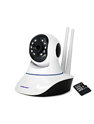 Strongshine® 720P 3.6mm Lens Built in 32GB TF Card IR-cut Day Night P2P Wireless PTZ Indoor IP WiFI Camera
