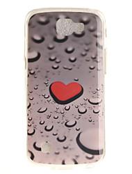 Para Funda LG IMD / Diseños Funda Cubierta Trasera Funda Corazón Suave TPU LG LG K10 / LG K8 / LG K7 / LG K4