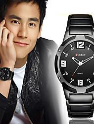 Masculino Relógio Esportivo / Relógio Militar / Relógio Elegante / Relógio de Moda / Relógio de Pulso Quartzo Japonês CalendárioAço