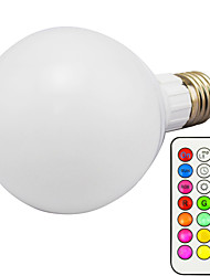 10 E26/E27 Bombillas LED Inteligentes G95 1 LED Integrado 800 lm lm RGB Regulable / Control Remoto AC 85-265 V 1 pieza