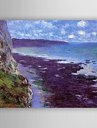 Oil Painting Landscape by Monet Hand Painted Canvas Painting with Stretched Framed Ready to Hang