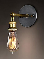 The American Village Wall Balcony Corridor Simple Copper Head Lamp