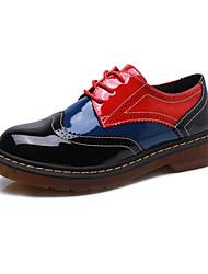 Women's Flats Spring / Fall Comfort / Round Toe / Closed Toe Casual Flat Heel Lace-upWalking