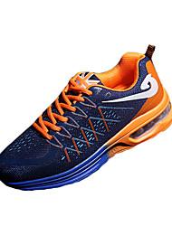 Unisexe-Décontracté-Bleu Rouge Orange-Talon Plat-Confort-Baskets-Tissu