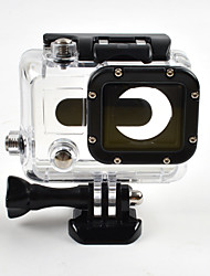 OEM GP28 Smooth Frame Schutzhülle Wasserfestes Gehäuse For Gopro Hero 3Surfen Bootfahren Kayaking Wakeboarding Others Reise Universal