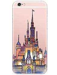 Pattern Fashion Cartoon Castle PC Hard Case Back Cover For Apple iPhone 6s 6 Plus SE/5s/5