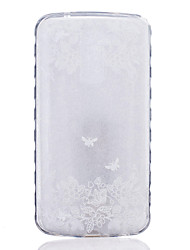 TPU Material Two Butterflies Pattern Painted Slip Phone Case for LG K10/K8/K7/K5/K4/G5/G4/G3