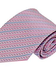 Wedding Party Polyester Silk Necktie Tie for Adult Men