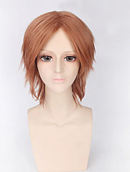 Fashion Short Wig Brown Color Synthetic Cosplay African American Wigs