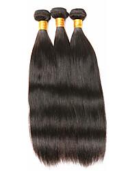 Cheap 20-24inch Virgin Hair 3Bundles 150g Unprocessed Brazilian Straight 100% Human Hair