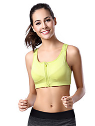 Sports Bra Bike Breathable / Protective / Comfortable Women's Green / Red / Pink / Gray / Black Nylon / Chinlon