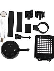 Велосипедные фары LED LED Велоспорт Пульт управления / Перезаряжаемый / Компактный размер / Экстренная ситуация 50~100 Люмен Батарея / USB