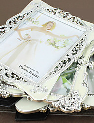 7 Inch White Classical European Style Retro Photo Frame Table Wedding Wedding Photo Frame