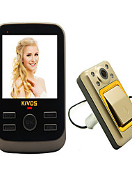 By Monitoring The Video Camera KiVOS KDB01 Visual Household Anti-Theft Door Doorbell Cable Hotel
