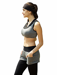 Women's Sleeveless Running Clothing Sets/Suits Breathable Sweat-wicking Spring Summer Fall/Autumn Sports WearYoga Pilates Climbing